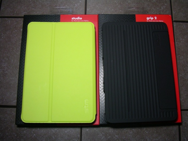 STM Bags Grip 2 and Studio for the iPad Mini with Retina display