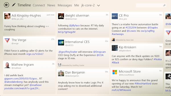 Tweetium for Windows 8.1 review