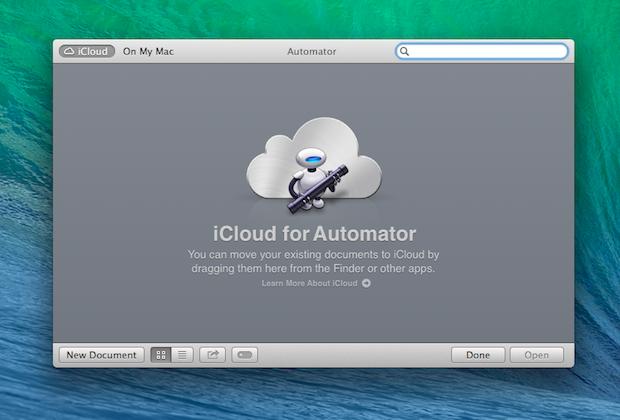 More iCloud integration