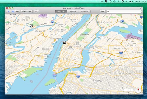 Apple Maps to the desktop