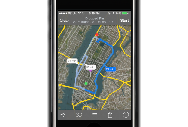 Apple Maps: Directions sent to iPhone, iPad