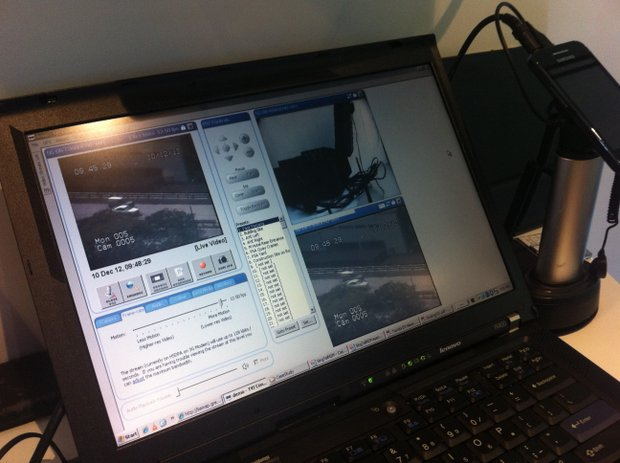 M2M-connected CCTV
