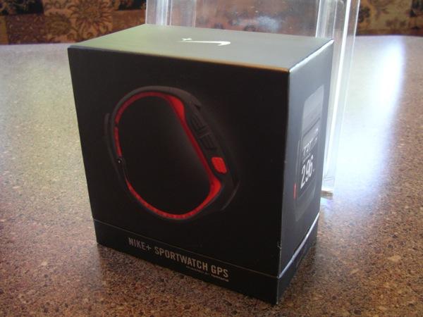 Nike+ SportWatch GPS retail package