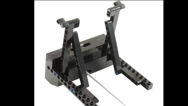 A lego iPad dock