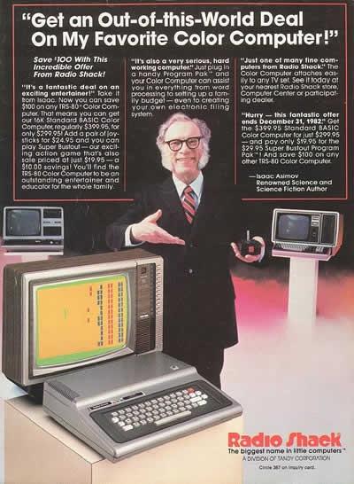 Radio Shack Color Computer Ad