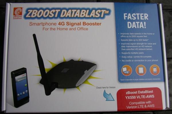 zBoost DataBlast retail package