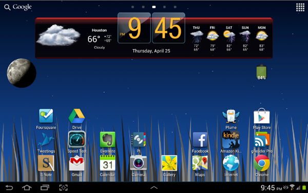Good apps for the Samsung Galaxy Note 10.1