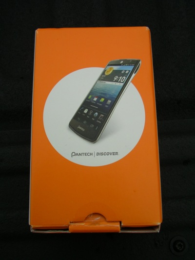 Pantech Discover retail package