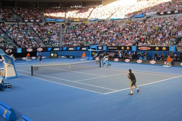 The Australian Open begins