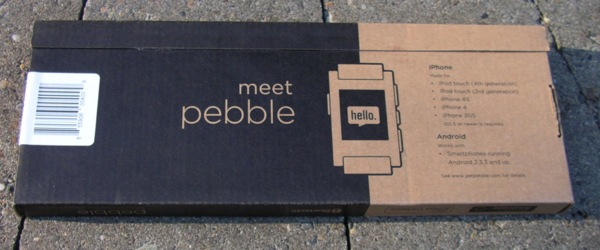 Cool Pebble retail package