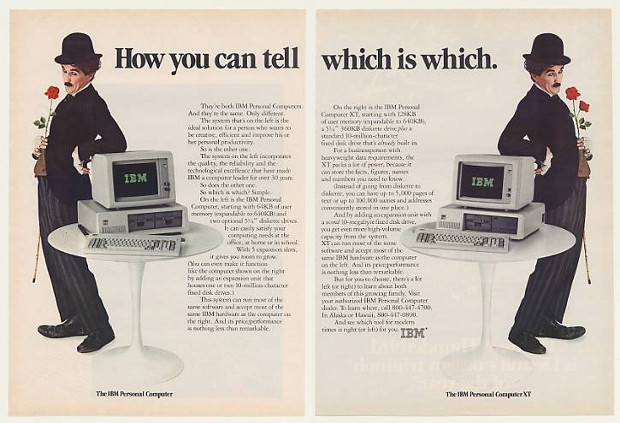 An IBM PC! With a hard drive!!