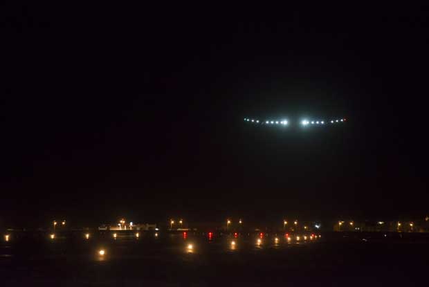 US flight from sea to shining sea