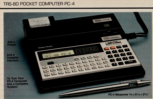 Didn't need the Internet? Then there was always this calcula... ah, computer