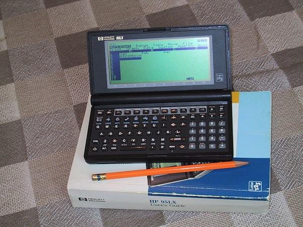 1991 — HP 95LX pocket computer