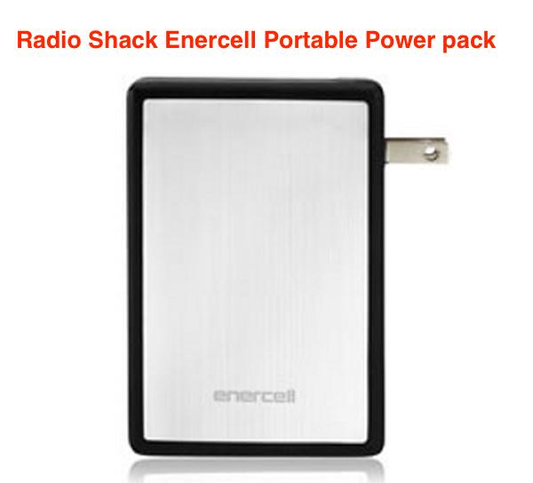 Radio Shack Enercell 6000 mAH Portable Power Pack
