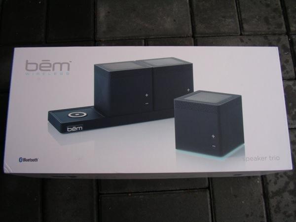 Bem Speaker Trio retail package