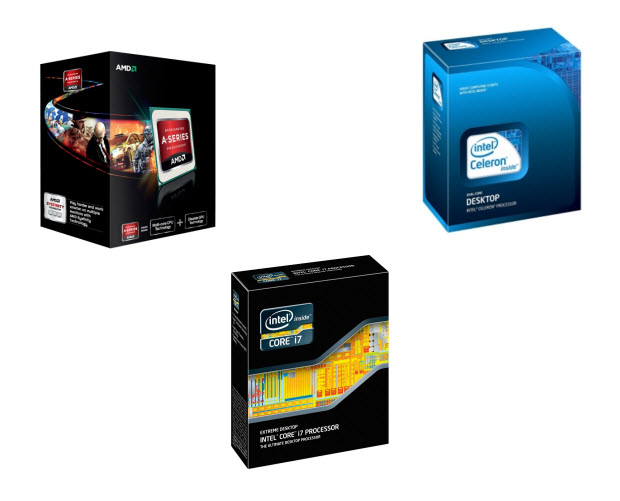 Best CPUs and motherboards list of 2012