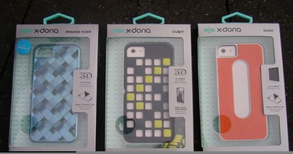 X-Doria makes some classy iPhone cases and these three for the iPhone 5 are all good choices.