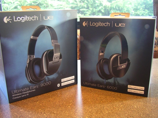 Logitech UE 9000 and 6000 retail packages