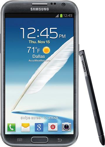 3. Samsung Galaxy Note II