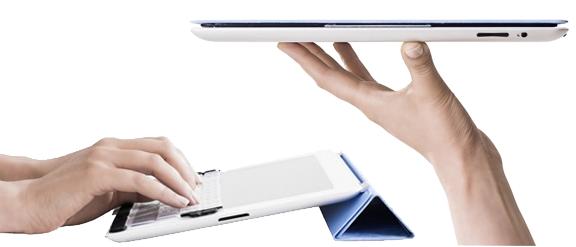 Touchfire Screen-Top iPad Keyboard