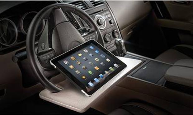 Wheelmate Laptop Steering Wheel Desk - $29.99