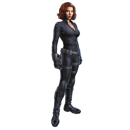 The Avengers Black Widow peel and stick giant decal