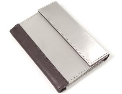 Stainless Steel RFID Blocking Passport Wallet