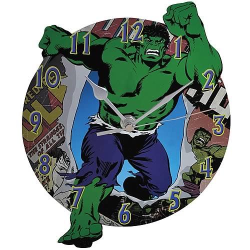 Incredible Hulk wall clock
