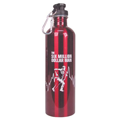 Six Million Dollar Man water bottle