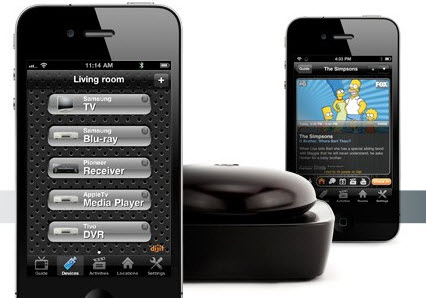 Griffin Beacon home entertainment remote control for iOS