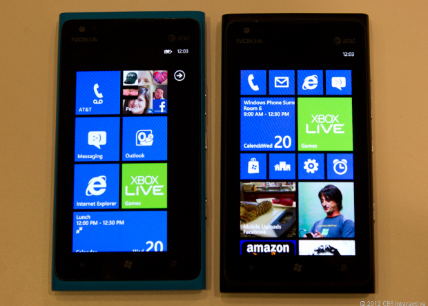 Windows Phone 8 and 7.8 compared