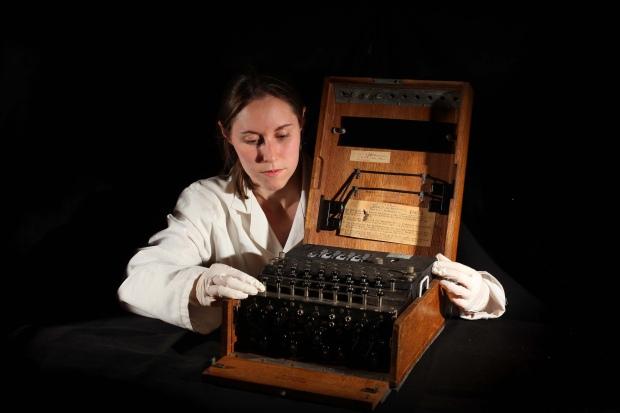 Mick Jagger's Enigma machine