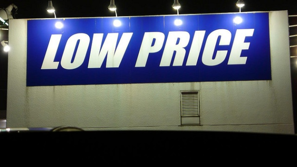 Low price sign