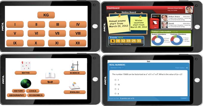 Tablet for school kids