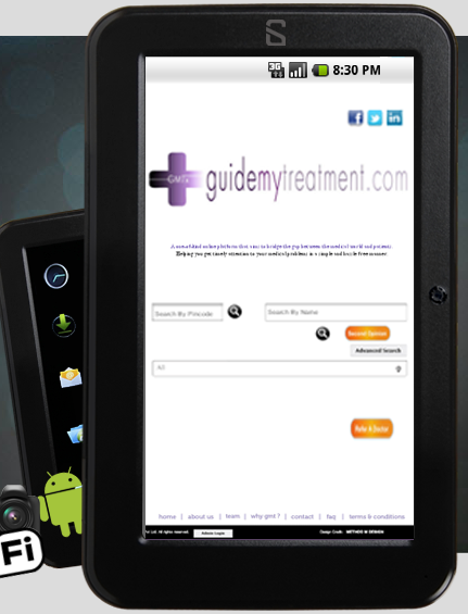 Tablet for the health and fitness conscious