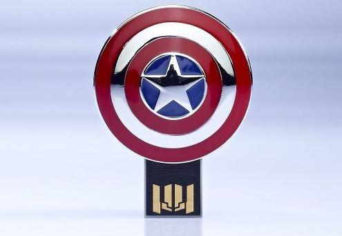 Captain America USB drive