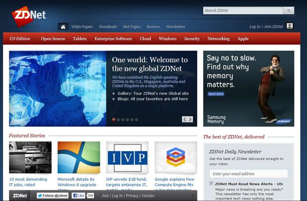 ZDNet goes global