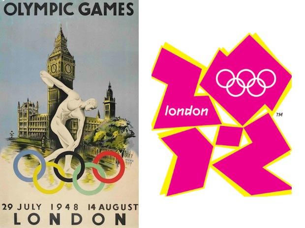 Olympic games logos