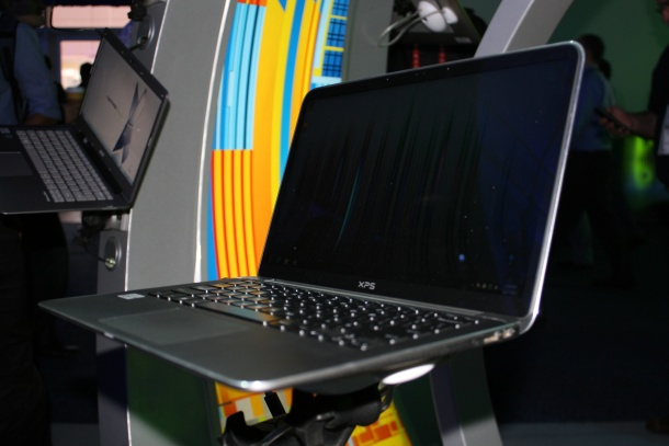 Dell XPS 13 ultrabook side-on