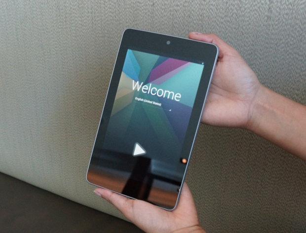 Nexus 7 tablet front