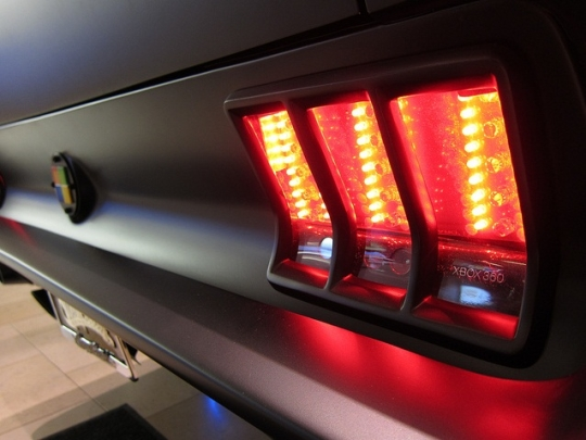 Kinect in the taillights