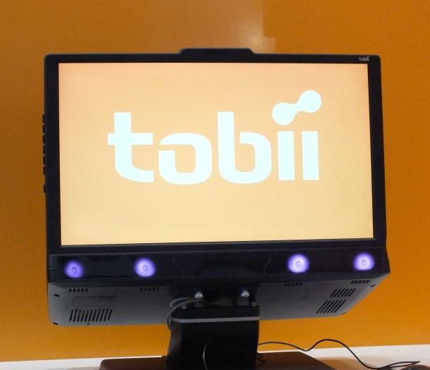 Tobii eye-tracking technology