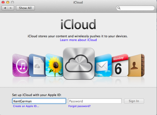 iCloud integration