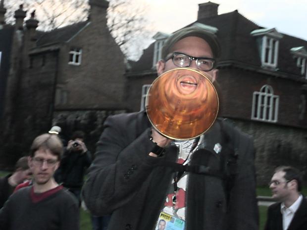 Copyright protestors image