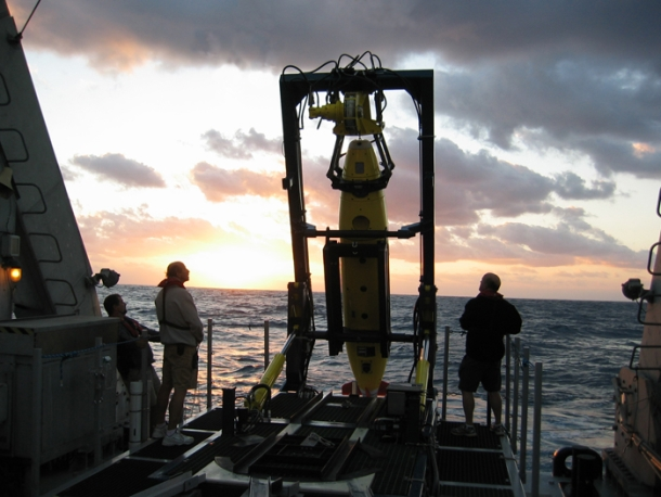 Air France Remus 6000 underwater search vehicle