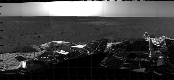 View of Mars by Nasa's Spirit Rover