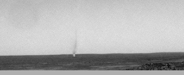 Mars 'dust devil'