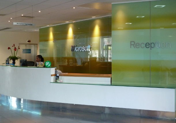 Microsoft Technology Centre reception