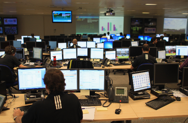 London Olympics Technology Operations Centre